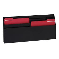 "Eldon® Optimizers™ 6-Pocket Organizer, 11.5""H x 24.6""W x 2.8""D, Black"