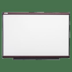 "SKILCRAFT® Total Erase Dry-Erase Whiteboard, 48"" x 36"", Wood Frame With Mahogany Finish (AbilityOne 7110 01 622 2118)"