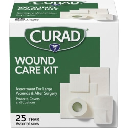 Curad Wound Care Kit - 25 x Piece(s) - 25 / Box
