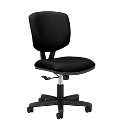 HON® Volt® 5701 Fabric Mid-Back Task Chair, Black