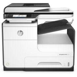 HP PageWide Pro 477dw Wireless Color Inkjet All-In-One Printer, Copier, Scanner, Fax, D3Q20A#B1H