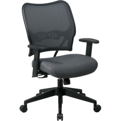 Office Star™ Deluxe Task Chair With VeraFlex™ Seat And Back, Charcoal/Black