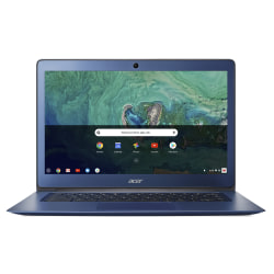 "Acer® Chromebook 14, 14"" Screen, Intel® Celeron®, 4GB Memory, 32GB Internal Storage, Google™ Chrome OS, NX.GU7AA.001"
