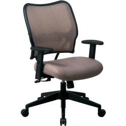 Office Star™ Deluxe Task Chair With VeraFlex™ Seat And Back, Latte/Black