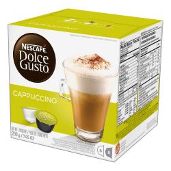Nescafe® Dolce Gusto® Single-Serve Coffee Pods, Cappuccino, Carton Of 16