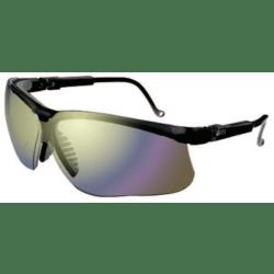 Genesis® Eyewear, Mirror Lens, Polycarbonate, Ultra-dura®, Black Frame