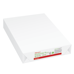 "Office Depot® EnviroCopy® Paper, Letter Size (8 1/2"" x 11""), 20 Lb, 30% Recycled, FSC® Certified, White, Ream Of 500 Sheets"