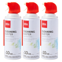 Office Depot® Brand Cleaning Dusters, 10 Oz., Pack Of 3