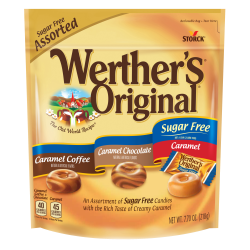 Werther's® Original® Hard Candies Sugar Free, 7.7 Oz. Bag