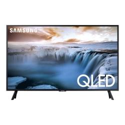 "Samsung QN32Q50RAF - 32"" Diagonal Class Q50 Series QLED TV - Smart TV - 4K UHD (2160p) 3840 x 2160 - HDR - Quantum Dot, New Edge Backlight - charcoal black"