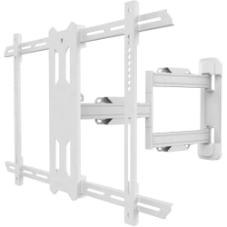"""Kanto PS350W Wall Mount for Flat Panel Display - White - 1 Display(s) Supported60"""" Screen Support - 88.18 lb Load Capacity - 1"""