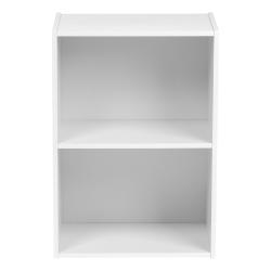 "IRIS 24""H 2-Tier Storage Shelf, White"