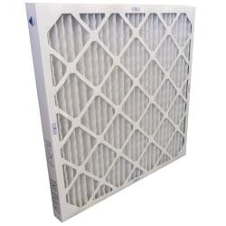 "Tri-Dim Antimicrobial HVAC Pleated Air Filters, Merv 8, 20"" x 20"" x 2"", Case Of 6"