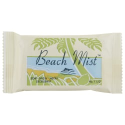 Beach Mist™ Face And Body Soap, #1 1/2 Bar, Beach Mist, Pack Of 500