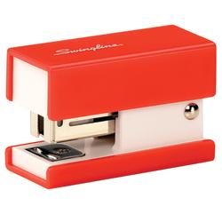 Swingline® Mini Stapler, Red