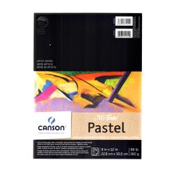 "Canson Mi-Teintes Pastel Pad, 9"" x 12"", Assorted, 24 Sheets Per Pad"