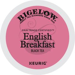 Bigelow® English Breakfast Tea Single-Serve K-Cups®, Box Of 24