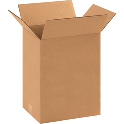 "Office Depot® Brand Corrugated Boxes, 11-1/4"" x 8-3/4"" x 14"", Kraft, Pack Of 25 Boxes"