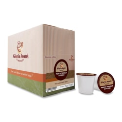 Gloria Jean's® Coffees French Vanilla Supreme Coffee Single-Serve K-Cup®, Carton Of 24