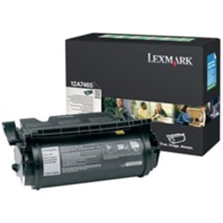 Lexmark High Capacity Black Toner Cartridge - Laser - Black