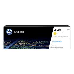 HP 414X High-Yield Yellow Toner Cartridge (W2022X)