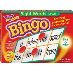 Trend® Sight Words Bingo Game