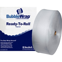 """Sealed Air Bubble Wrap Multi-purpose Material - 12"""" Width x 250 ft Length - 0.2"""" Bubble Size - 1 Wrap(s) - Lightweight, Perforated - Clear"""