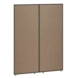 "Bush Business Furniture ProPanels 66""H Office Partition, 48""W, Harvest Tan/Taupe, Standard Delivery"
