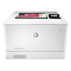 HP Color LaserJet Pro M454dn Color Laser Printer Duplex Printing (W1Y44A)