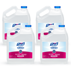 Purell® Food Service Surface Sanitizer, Unscented, 139.2 Oz, Pack Of 4