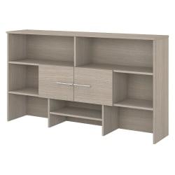 "Bush Business Furniture Office 500 72""W Desk Hutch, Sand Oak, Standard Delivery"
