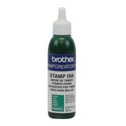 Brother® Refill Ink Bottle, .67 Oz, Green