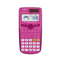 Casio® Scientific Calculator, Pink, FX300ESPLUS-PK