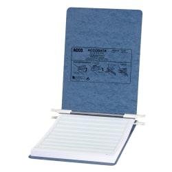 Wilson Jones® Presstex® Data Binder With Retractable Hooks, 60% Recycled, Light Blue