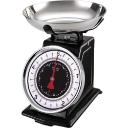 Starfrit Mechanical Kitchen Scale with Bowl - 11 lb / 5 kg Maximum Weight Capacity