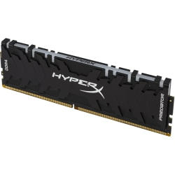 HyperX Predator 8GB DDR4 SDRAM Memory Module - 8 GB (1 x 8GB) - DDR4-3000/PC4-24000 DDR4 SDRAM - 3000 MHz - CL15 - 1.35 V - Non-ECC - Unbuffered - 288-pin - DIMM