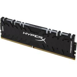 HyperX Predator RGB - DDR4 - module - 8 GB - DIMM 288-pin - 3000 MHz / PC4-24000 - CL15 - 1.35 V - unbuffered - non-ECC - black