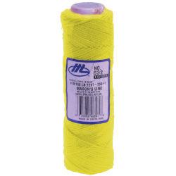 Marshalltown® Braided Nylon Mason's Line, 250', Fluorescent Yellow