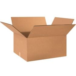 "Office Depot® Brand Double-Wall Heavy-Duty Corrugated Cartons, 24"" x 16"" x 8"", Kraft, Box Of 15"