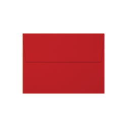 """LUX Invitation Envelopes With Moisture Closure, A7, 5 1/4"""" x 7 1/4"""", Holiday Red, Pack Of 250"""