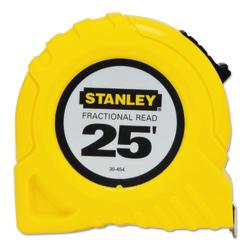 """Stanley Tools Tape Measure, Standard, 25' x 1"""" Blade"""