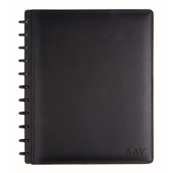 "TUL™ Personalized Custom Note-Taking System Discbound Letter-Size Notebook, 8 1/2"" x 11"", Black"