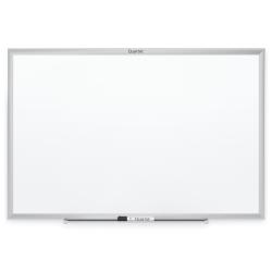 "Quartet® Classic Total Erase® Dry-Erase Whiteboard, 60"" x 36"", Silver Aluminum Frame"