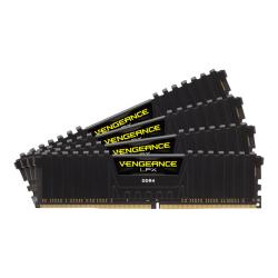 CORSAIR Vengeance LPX - DDR4 - kit - 128 GB: 4 x 32 GB - DIMM 288-pin - 3600 MHz / PC4-28800 - CL18 - 1.35 V - unbuffered - non-ECC - black