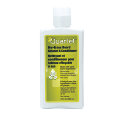 Quartet® Dry-Erase Board Cleaner & Conditioner For Melamine/Porcelain Boards, 8 Oz