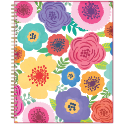 """Blue Sky™ Weekly/Monthly Planning Calendar, 8-1/2"""" x 11"""", Mahalo, July 2021 To June 2022, 100149"""
