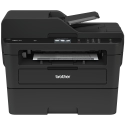 Brother® MFC-L2750DW Wireless Monochrome (Black And White) Laser All-In-One Printer