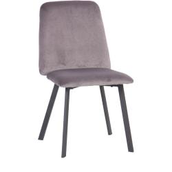 Ace Bayou Faux Fur Teen Desk Chair, Gray