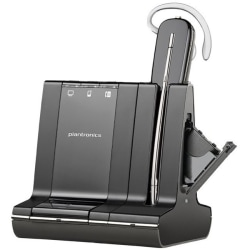 Plantronics® Savi W745 DECT Wireless Over-The-Ear Earset
