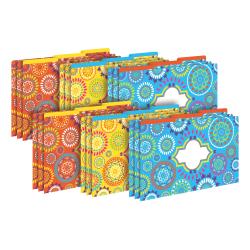 Barker Creek Tab File Folders, Legal Size, Moroccan, Pack Of 18 Folders
